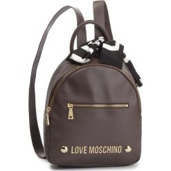 Plecak LOVE MOSCHINO - JC4307PP06KU0001 Taupe. Brązowe plecaki damskie Love Moschino, ze skóry ekologicznej. Za 839.00 zł.