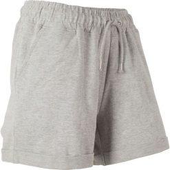 Szorty dresowe bonprix jasnoszary melanż. Spodnie dresowe damskie marki KIPSTA. Za 44.99 zł.
