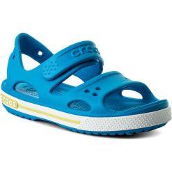 Sandały CROCS - Crocband II Sandal Ps 14854  Ocean/Tennis Ball Green. Sandały chłopięce Crocs, z tworzywa sztucznego. Za 129.00 zł.