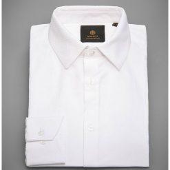 Koszula z żakardowej tkaniny - Biały. Białe koszule męskie Reserved, z tkaniny. Za 139.99 zł.