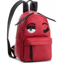Plecak CHIARA FERRAGNI - 18AI-CFZ000 Rosso. Czerwone plecaki damskie Chiara Ferragni, ze skóry ekologicznej, klasyczne. W wyprzedaży za 1,459.00 zł.