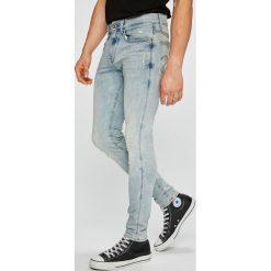 G-Star Raw - Jeansy 3301. Niebieskie jeansy męskie G-Star Raw. W wyprzedaży za 479.90 zł.