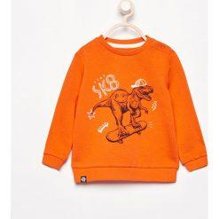 Bluza z nadrukiem - Pomarańczo. Bluzy dla chłopców Reserved, z nadrukiem. W wyprzedaży za 19.99 zł.