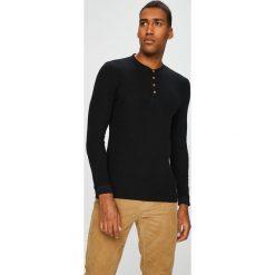 Medicine - Longsleeve Scandinavian Comfort. Czarne bluzki z długim rękawem męskie MEDICINE, z bawełny, z okrągłym kołnierzem. W wyprzedaży za 63.90 zł.