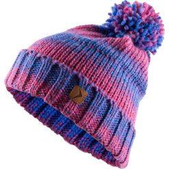 Czapka damska CAD606 - kobalt melanż - Outhorn. Fioletowe czapki i kapelusze damskie Outhorn, z polaru. Za 34.99 zł.