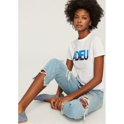T-shirt z dwustronnymi cekinami - Biały. T-shirty i topy dla dziewczynek Reserved. W wyprzedaży za 29.99 zł.