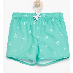Spodenki kąpielowe - Zielony. Kąpielówki dla chłopców marki Reserved. W wyprzedaży za 14.99 zł.
