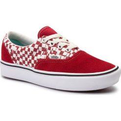 Wyprzedaż czerwone buty sportowe męskie Vans, bez