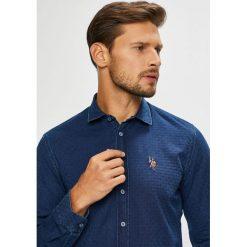 U.S. Polo - Koszula. Szare koszule damskie U.S. Polo, polo, z długim rękawem. W wyprzedaży za 449.90 zł.