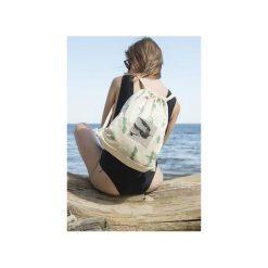 Plecak JASKÓŁKI. Białe plecaki damskie Dwie lewe ręce, z nadrukiem, z bawełny. Za 139.00 zł.
