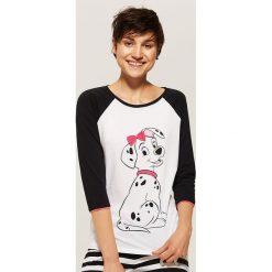 Koszulka piżamowa Disney - Wielobarwn. Szare koszule nocne damskie House, z motywem z bajki. Za 29.99 zł.