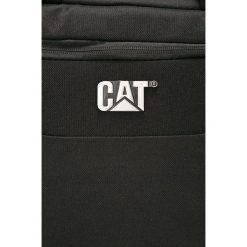 Caterpillar - Torba Mess. Czarne torby na laptopa męskie Caterpillar, w paski, z materiału. W wyprzedaży za 199.90 zł.