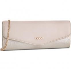 Torebka NOBO - NBAG-C3750-C015 Beżowy Złoty. Brązowe torebki do ręki damskie Nobo, z materiału. W wyprzedaży za 99.00 zł.