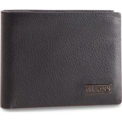 Duży Portfel Męski GUESS - SM2510 LEA24 BLA. Czarne portfele męskie Guess, z aplikacjami, ze skóry. Za 279.00 zł.