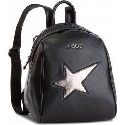 Plecak NOBO - NBAG-F0900-C020 Czarny. Czarne plecaki damskie Nobo, ze skóry ekologicznej, eleganckie. W wyprzedaży za 159.00 zł.