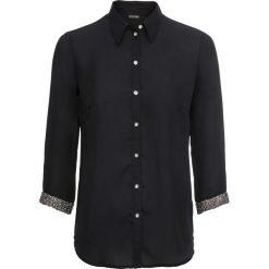 Bluzka z brokatowymi mankietami bonprix czarny. Czarne bluzki damskie bonprix. Za 89.99 zł.