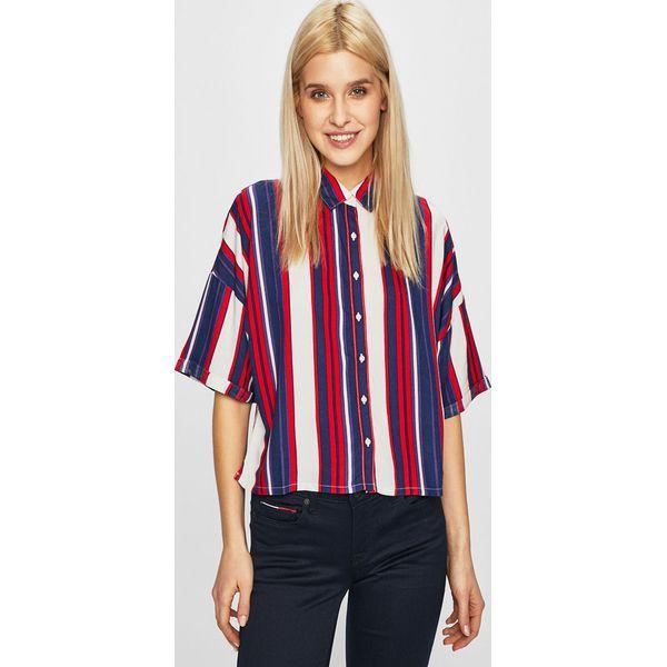 Lee Koszula Niebieskie bluzki damskie Lee, l, bez wzorów  AA2JG