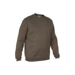 Sweter 100. Brązowe swetry przez głowę męskie SOLOGNAC. Za 39.99 zł.