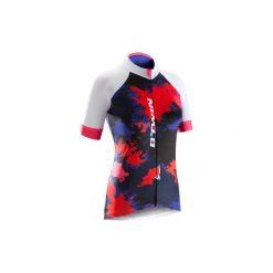 Koszulka krótki rękaw na rower 900 SPLASH damska. Czarne t-shirty damskie B'TWIN. Za 149.99 zł.