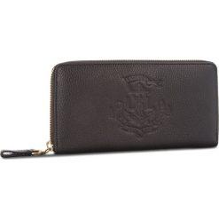 Duży Portfel Damski LAUREN RALPH LAUREN - Huntley 432707744001 BLACK. Czarne portfele damskie Lauren Ralph Lauren, ze skóry. W wyprzedaży za 429.00 zł.