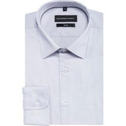 Koszula SIMONE KDPS000167. Szare koszule męskie Giacomo Conti, z bawełny, z klasycznym kołnierzykiem, z długim rękawem. Za 169.00 zł.
