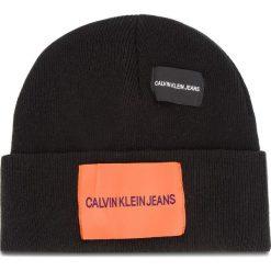 Czapka CALVIN KLEIN JEANS - J Patches Beanie W K40K400755 016. Czarne czapki i kapelusze damskie Calvin Klein Jeans. Za 179.00 zł.