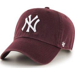 47brand - Czapka New York Yankees Clean Up. Brązowe czapki i kapelusze męskie 47brand. Za 89.90 zł.