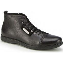 Buty męskie 87-M-931-1. Czarne buty sportowe męskie Wittchen, z materiału. Za 259.00 zł.