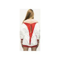 Kobieca bluza DOTS Oversize. Czerwone bluzy damskie Aniess. Za 200.00 zł.