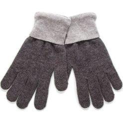 Rękawiczki Damskie TRUSSARDI JEANS - Gloves Logo 57Z00100 E650. Szare rękawiczki damskie TRUSSARDI JEANS, z jeansu. Za 169.00 zł.