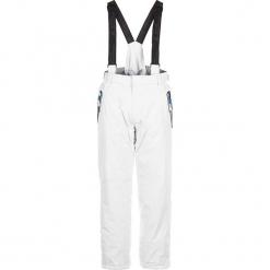 Spodnie narciarskie w kolorze białym. Spodnie snowboardowe męskie marki WED'ZE. W wyprzedaży za 159.95 zł.