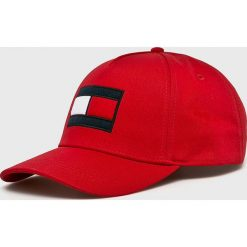 Tommy Hilfiger - Czapka. Czerwone czapki i kapelusze męskie Tommy Hilfiger. Za 159.90 zł.