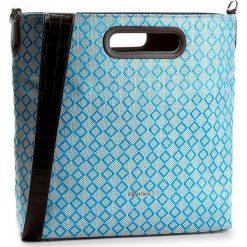 Torebka TWINSET - Shopping AS7TZ2  Vivid Blu 00870. Niebieskie torebki do ręki damskie Twinset, ze skóry ekologicznej. W wyprzedaży za 379.00 zł.