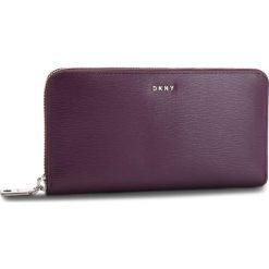 Duży Portfel Damski DKNY - Bryant New Zip Around R8313658 Brinjal B7J. Fioletowe portfele damskie DKNY, ze skóry. W wyprzedaży za 379.00 zł.