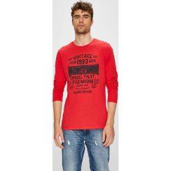 Blend - Longsleeve. Różowe bluzki z długim rękawem męskie Blend, z nadrukiem, z bawełny, z okrągłym kołnierzem. W wyprzedaży za 39.90 zł.