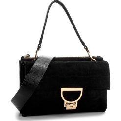 Torebka COCCINELLE - AD6 Arlettis Suede E1 AD6 12 01 01 Noir 001. Czarne torebki do ręki damskie Coccinelle, ze skóry. W wyprzedaży za 1,099.00 zł.