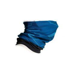 Komin na szyję na rower ROADRACING 500 zimowy. Niebieskie szaliki i chusty damskie B'TWIN, na zimę, z elastanu. Za 24.99 zł.
