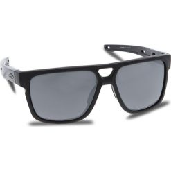 Okulary przeciwsłoneczne OAKLEY - Crossrange Patch OO9382-0660 Matte Black/Prizm Black Iridium. Czarne okulary przeciwsłoneczne męskie Oakley, z tworzywa sztucznego. W wyprzedaży za 579.00 zł.