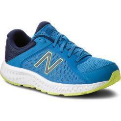 Buty NEW BALANCE - M420CM4  Niebieski. Niebieskie buty sportowe męskie New Balance, z materiału. W wyprzedaży za 209.00 zł.