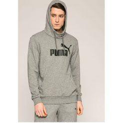 Puma - Bluza. Szare bluzy męskie Puma, z nadrukiem, z bawełny. W wyprzedaży za 179.90 zł.