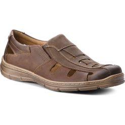 Sandały LASOCKI FOR MEN - MI07-A695-A556-02 Brązowy. Sandały męskie marki DKNY. W wyprzedaży za 159.99 zł.