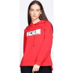 Czerwona Bluza Crush Me Fine. Czerwone bluzy damskie Born2be. Za 79.99 zł.