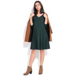 Fille Du Couturier Sukienka Damska Nani 36 Zielony. Zielone sukienki damskie Fille Du Couturier, eleganckie. Za 229.00 zł.