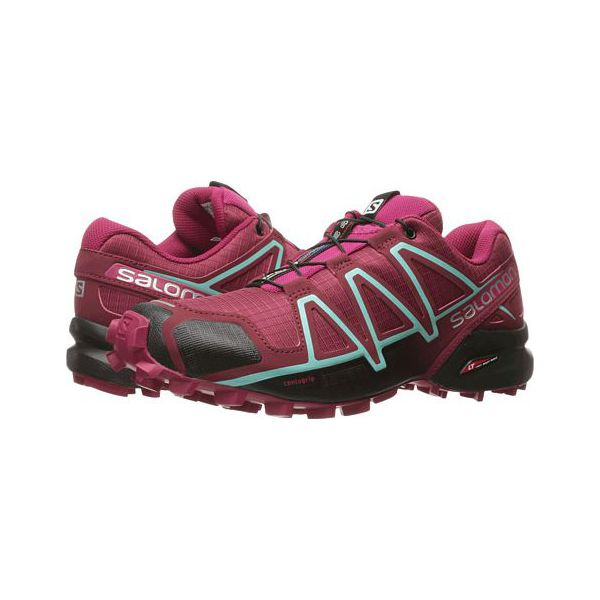 Salomon Buty damskie Speedcross 4 Tibetan RedSangriaBlack r. 40