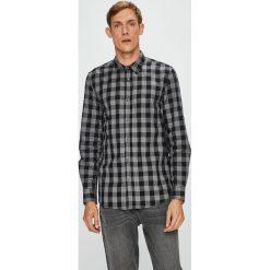 Medicine - Koszula Under The City. Szare koszule męskie MEDICINE, w kratkę, z bawełny, z klasycznym kołnierzykiem, z długim rękawem. W wyprzedaży za 79.90 zł.