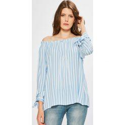Fresh Made - Bluzka. Szare bluzki damskie Fresh Made, z tkaniny, casualowe, z dekoltem w łódkę. W wyprzedaży za 59.90 zł.