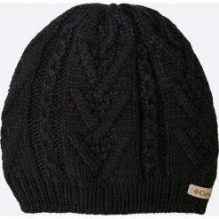 Columbia - Czapka Parallel Peak II. Czarne czapki i kapelusze damskie Columbia, z dzianiny. Za 129.90 zł.