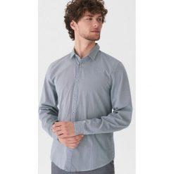 Koszula w prążki - Szary. Szare koszule męskie House, w prążki. Za 79.99 zł.