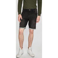Tom Tailor Denim - Szorty. Szare szorty męskie Tom Tailor Denim, z bawełny, casualowe. W wyprzedaży za 139.90 zł.
