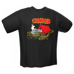 GamersWear CAMPER T-Shirt czarna (M) ( 6057-M ). Czarne t-shirty i topy dla dziewczynek GamersWear. Za 80.24 zł.